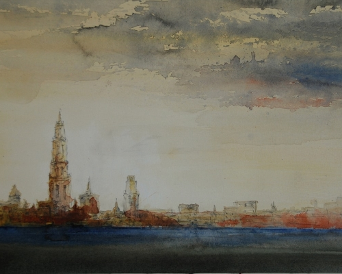 Paul Nellens watercolour artist
