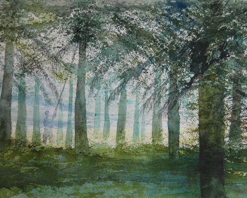 Paul Nellens watercolour artist